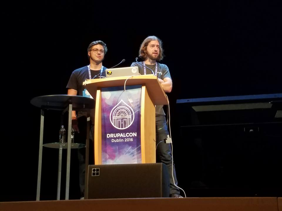 Matt and Ryan at DupalCon Dublin