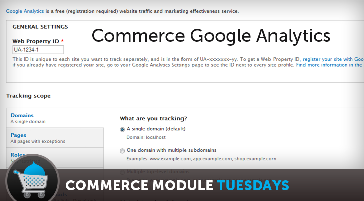 Commerce Google Analytics