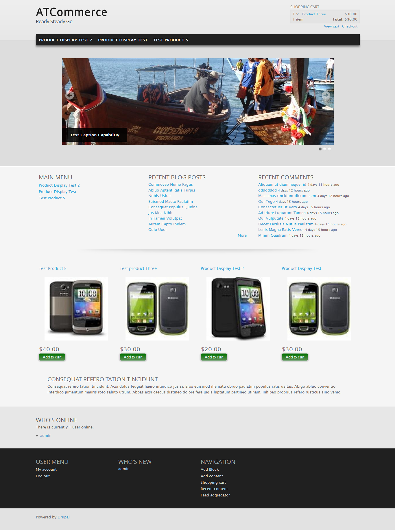 free drupal commerce themes