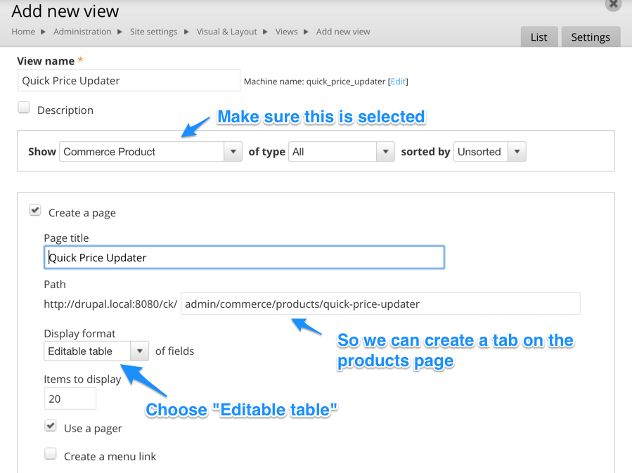 Quick and Dirty Price & Stock Updater with Editable Views | Drupal