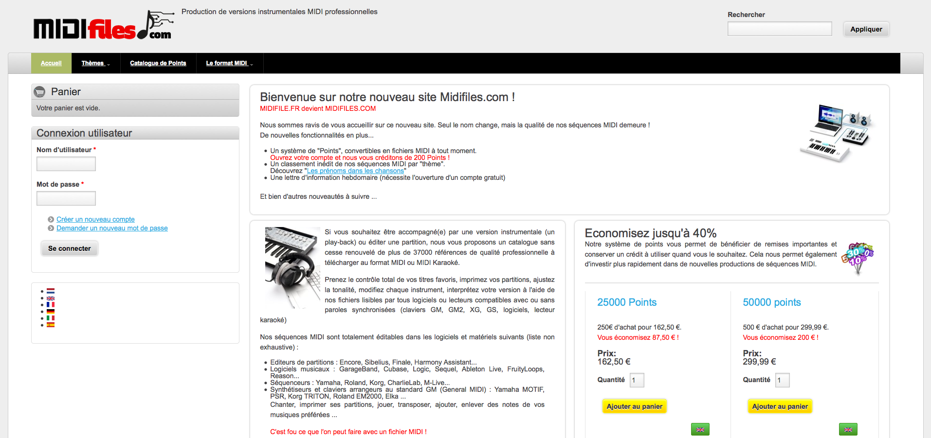 Midifiles com | Drupal Commerce