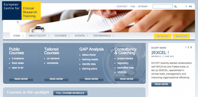 European Center for Clinical Research Training | Drupal Commerce