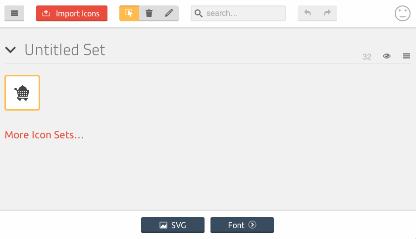 SVG Button